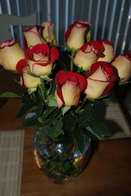 Love Him!   Surprise Flowers