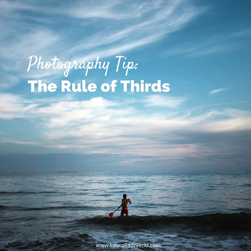 Photography Tips- The Rule of Thirds