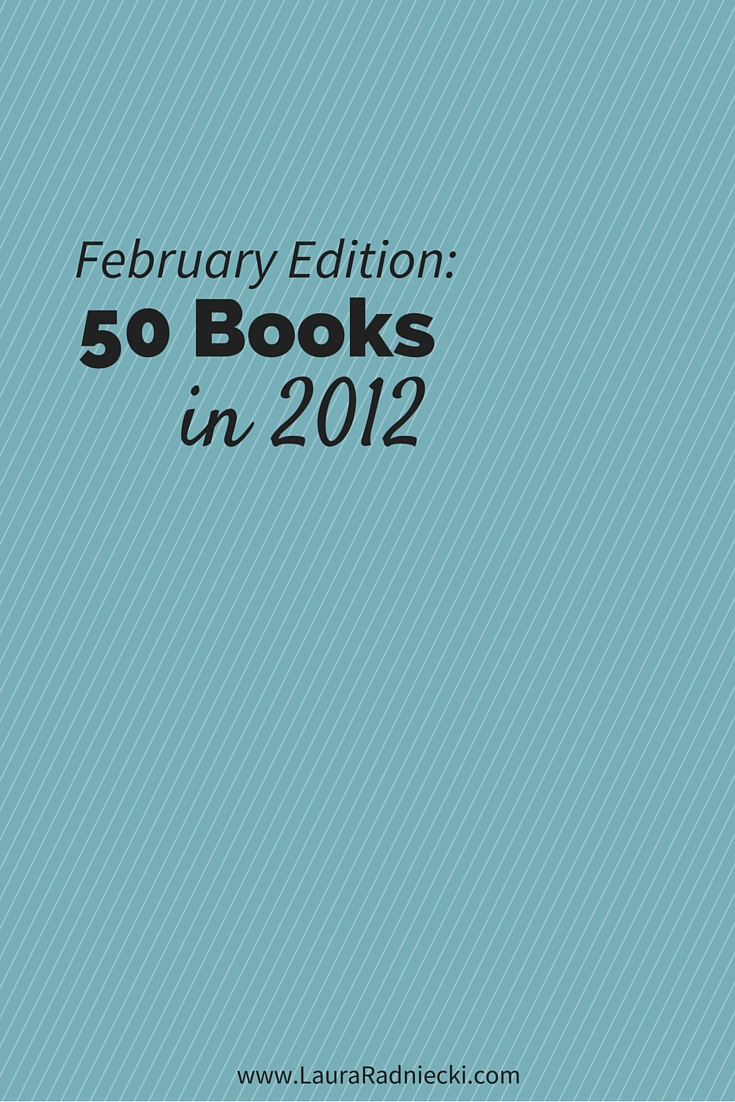 50 Books in 2012 - February Recap