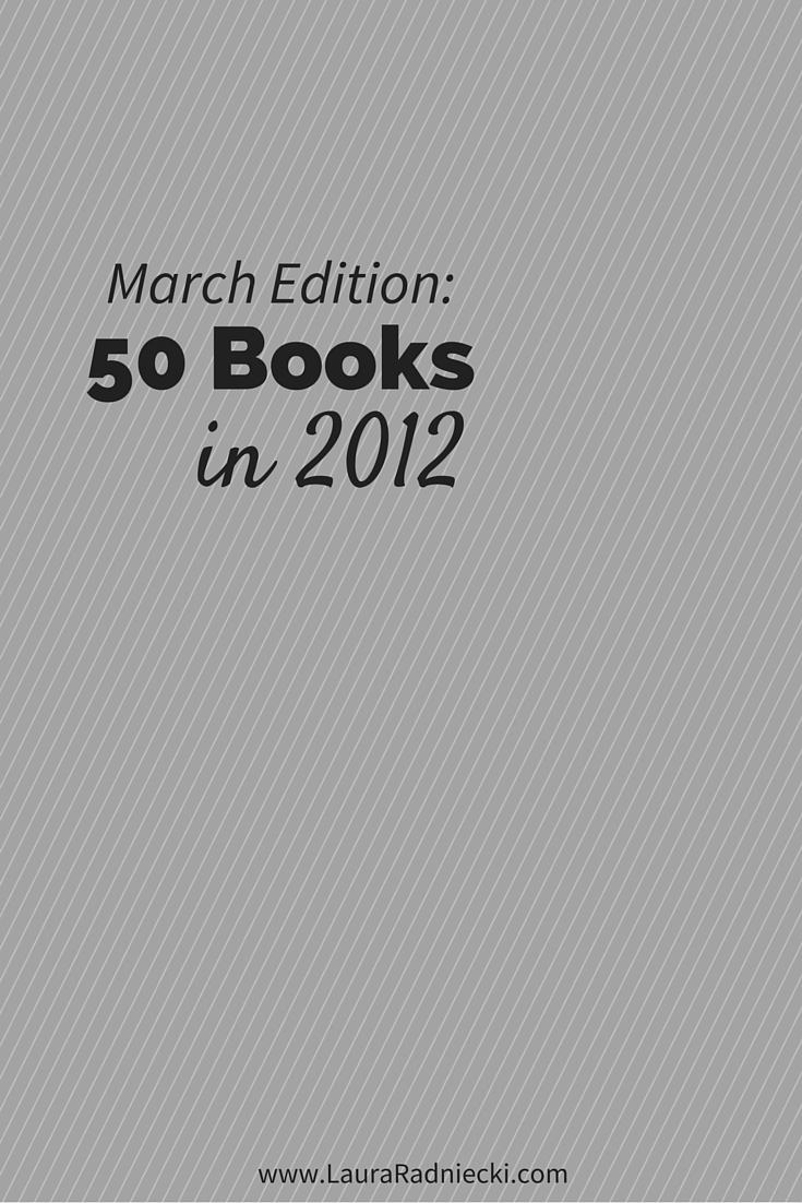 50 Books in 2012 – March Recap