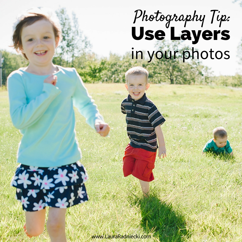 Photography Tip- Use Layers in your Photo