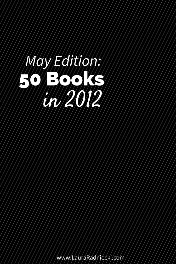 50 Books in 2012 - May Recap