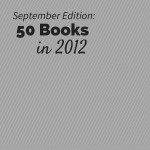 50 Books in 2012 - September Recap