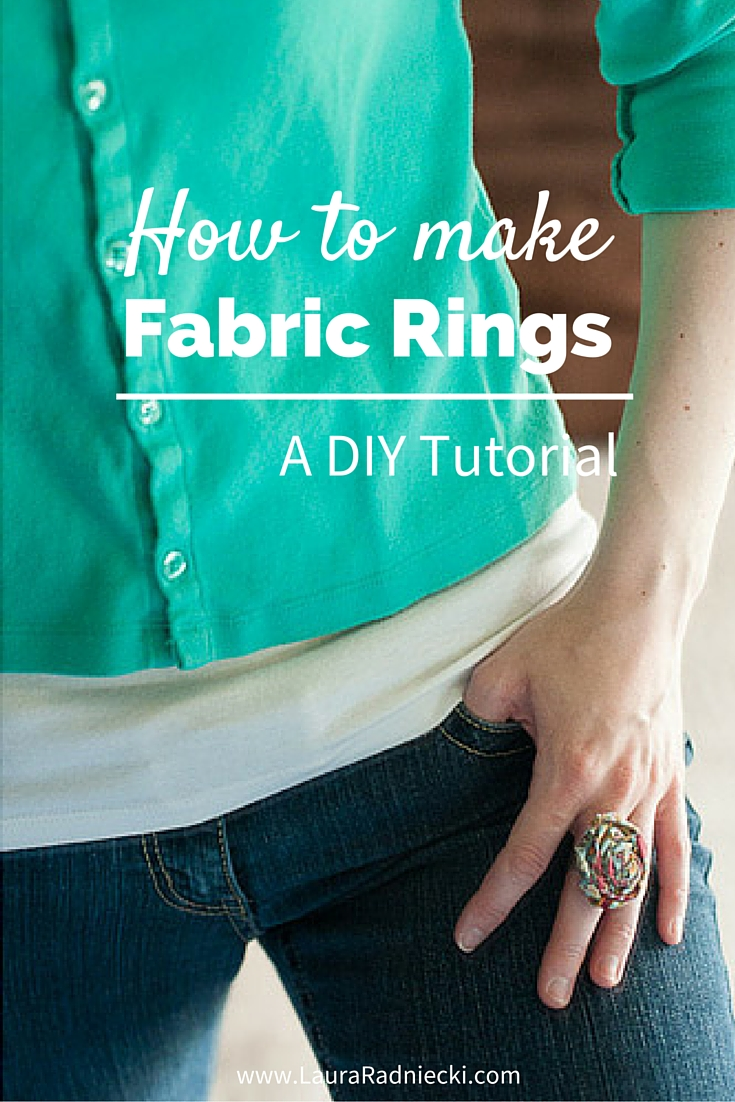 How to Make a Fabric Flower Ring – A DIY Tutorial