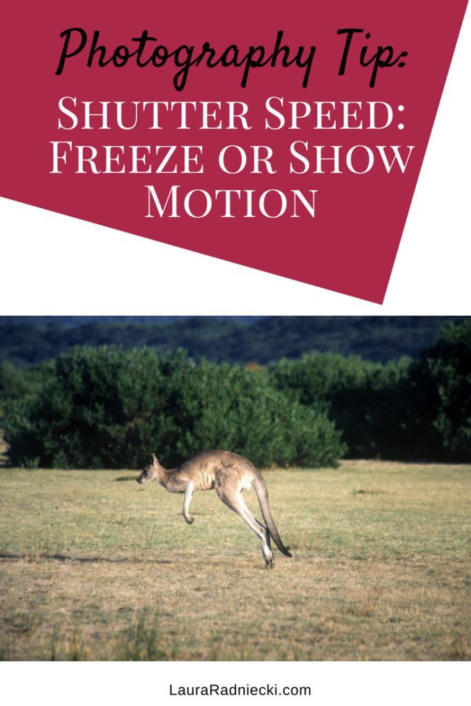 Use Shutter Speed to Freeze or Show Motion | Photography Tip