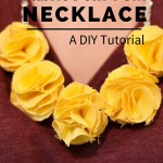 DIY Tutorial- How To Make A Fabric Pom-Pom Necklace