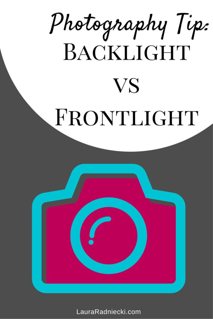 Backlight vs Frontlight |Photography Tip