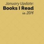 2014 - Books Read - January Update