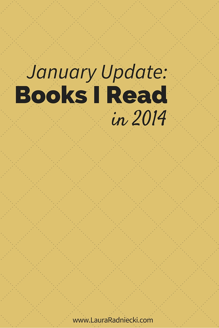 2014 - Books Read - January Update