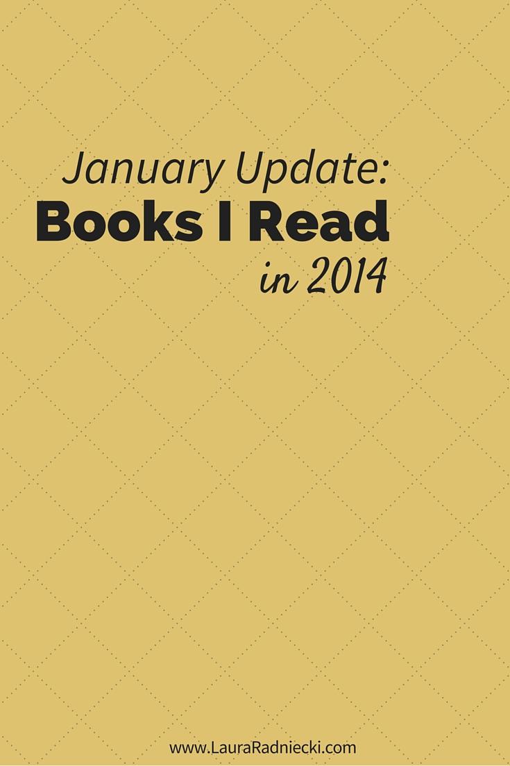 Read 40 Books in 2014 – January Recap