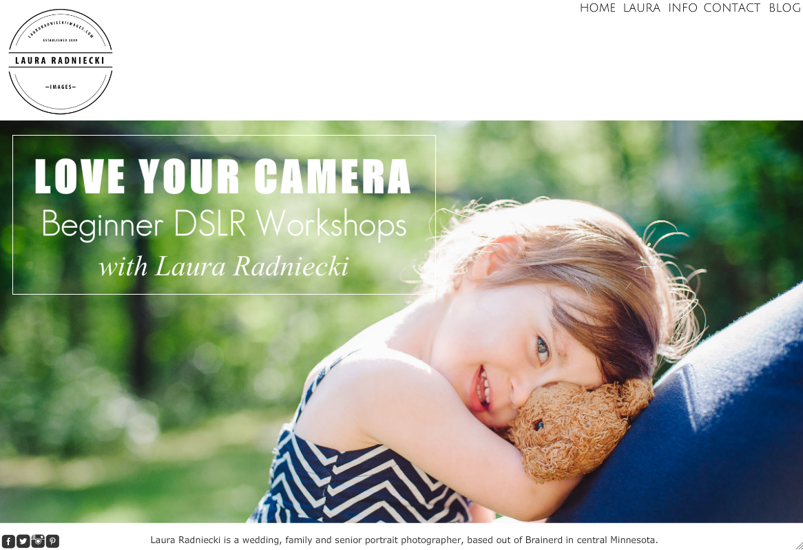 Love Your Camera – Beginner DSLR Camera Workshop
