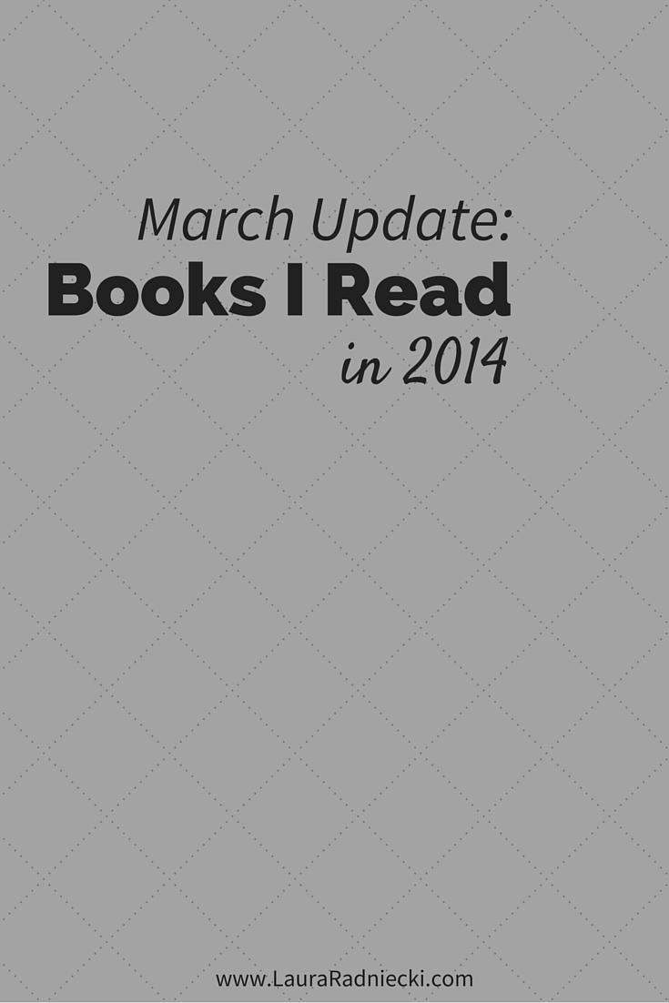 2014 - Books Read - March Update