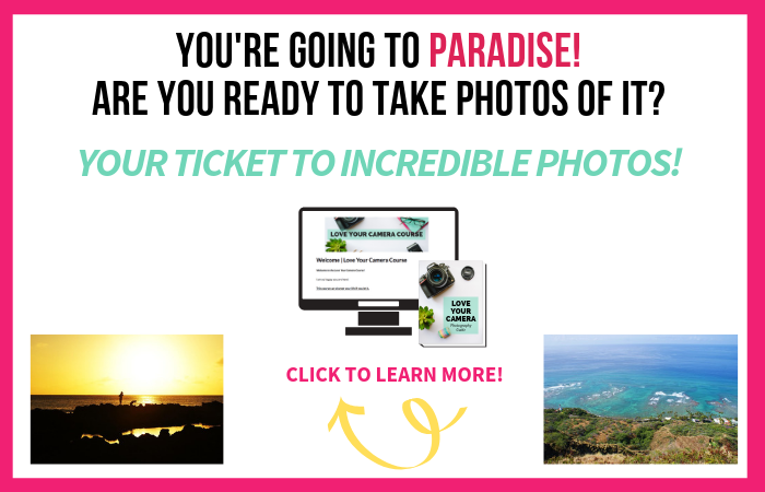 Take amazing photos of your Hawaiian vacation with help from the Love Your Camera Course