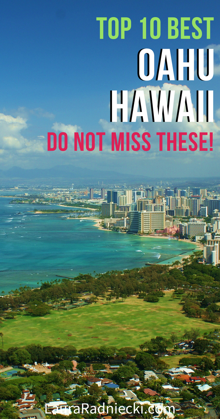 A list of the Top 10 Best Things To Do on Oahu, Hawaii. A must read if you\'re planning a trip to Hawaii, and want to know all of the best Oahu secrets, activities and tips! | Oahu Attractions, Oahu Travel Tips, Oahu Hawaii Sights #hawaii #oahu #travel #hawaiitravel #traveltips #visithawaii