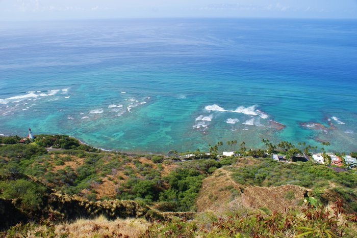 Diamond Head on Oahu, Hawaii by Laura Radniecki
