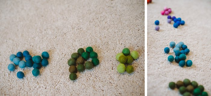 How to Make a Felt Ball Garland by Laura Radniecki