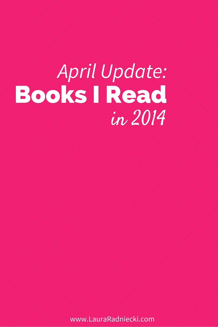 2014 - Books Read - April Update