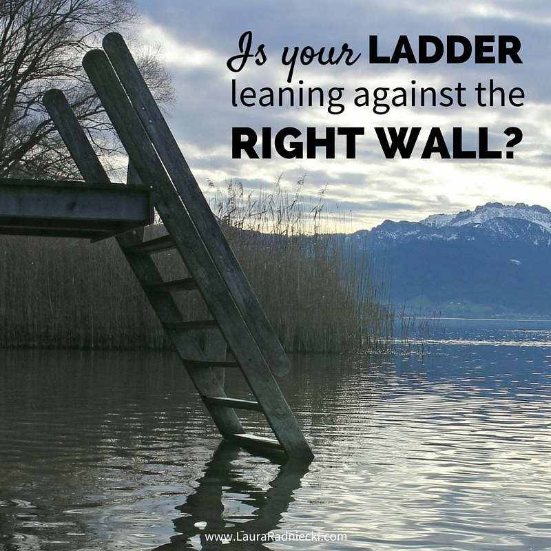 Is Your Ladder Leaning Against the Right Wall