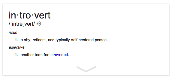 Wrong Definition of an Introvert | How do you know if you're an Introvert | How Do I Know If I'm An Introvert | What is an Introvert