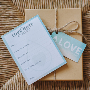 Love Note Assistant | Love Nourished