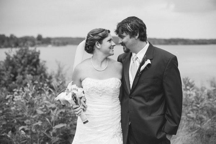 Happy 1 Year Anniversary, Kiley + Will! | Northland Arboretum | Brainerd, MN Wedding