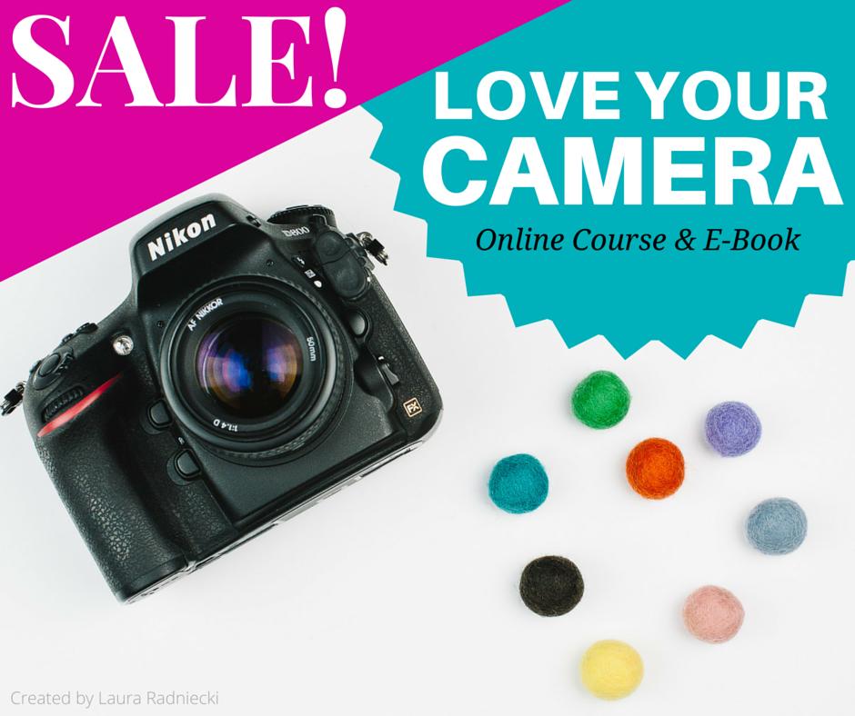 Love Your Camera Course - Launch Sale - HALF PRICES - Laura Radniecki