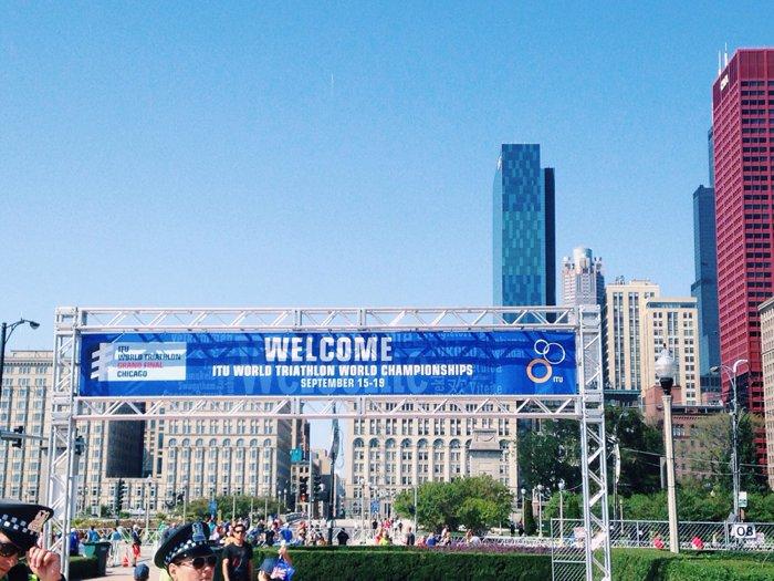 World Triathlon Championships in Chicago, IL