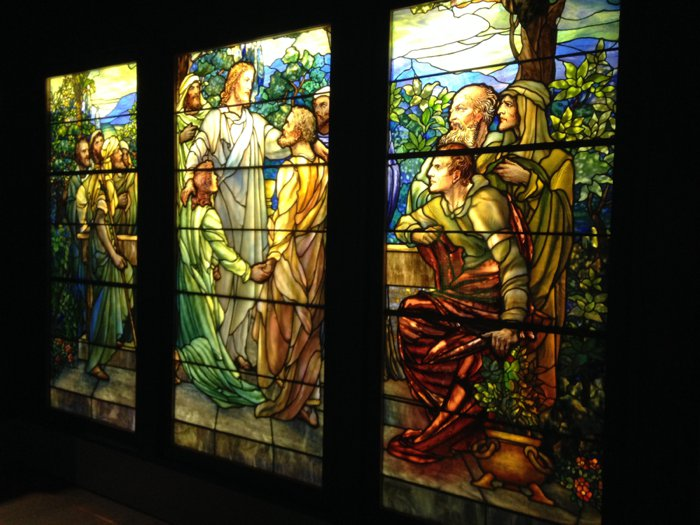 Stained Glass Museum on Navy Pier in Chicago, IL