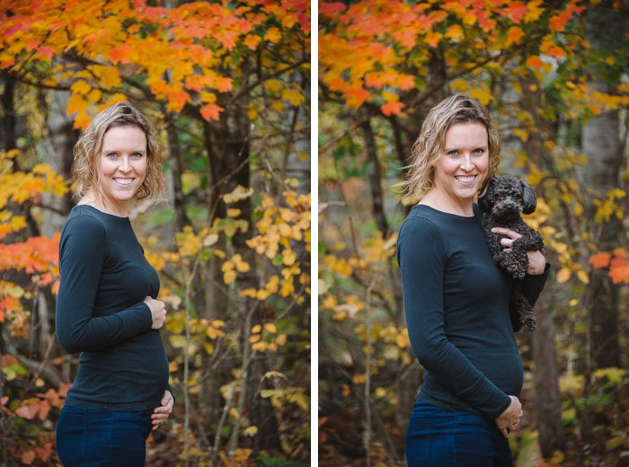 Laura Radniecki 18 week baby bump photo