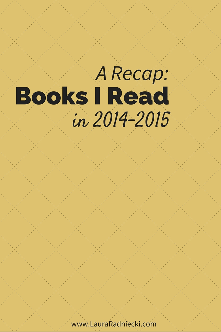 What I've Been Reading | 2014-2015 Recap