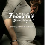 7 Tips for Surviving a Road Trip While Pregnant - Especially if You're in Your First Trimester