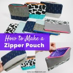 Zipper Pouch Tutorial - How to Make a Zippered Pouch - Easy Zipper Pouch | Make It For Baby | DIY and Craft Resources