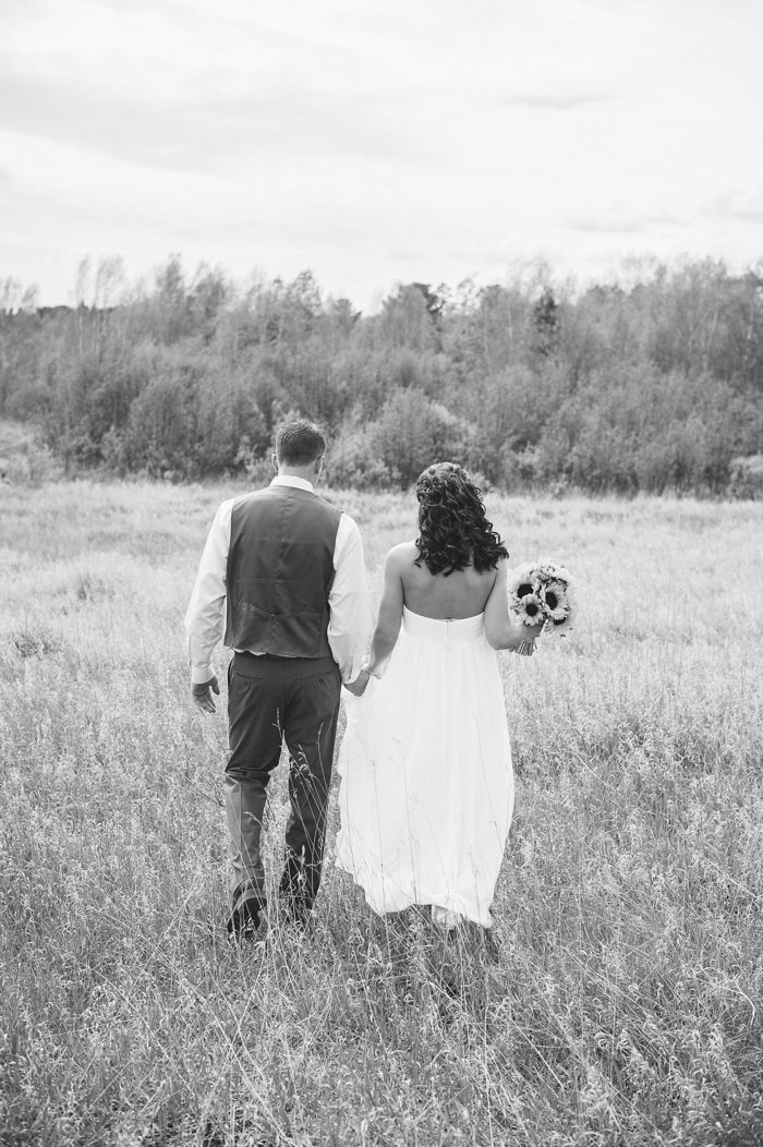 Dewey Wedding | Brainerd, MN Wedding Photography | Relaxed, Rustic, Country Wedding