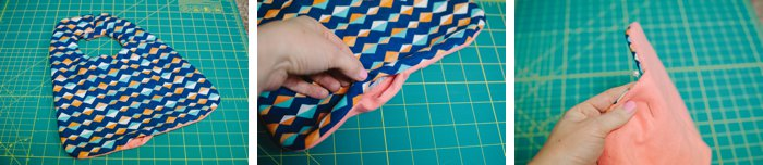 how to sew a bib for your baby