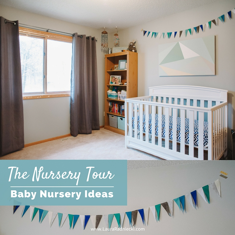 Baby Radniecki - The Nursery Tour - Baby Nursery Ideas | Beach Nautical Themed Nursery