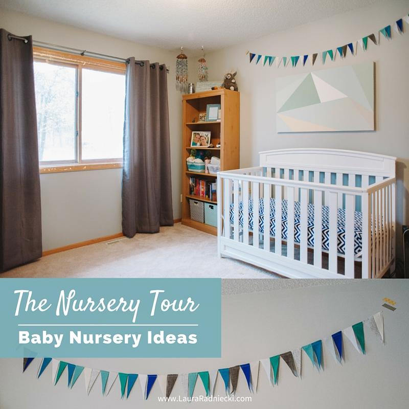 Baby Radniecki - The Nursery Tour - Baby Nursery Ideas   Beach Nautical Themed Nursery