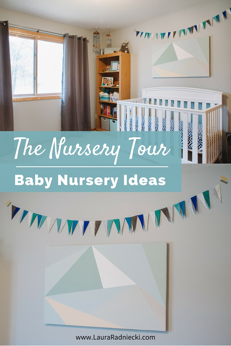 Baby Radniecki - The Nursery Tour - Baby Nursery Ideas | Beach Nautical Themed Nursery | Baby Boy Nursery Ideas, Gender Neutral Nursery, Nursery Decor Boy, Nursery Decor Gender Neutral