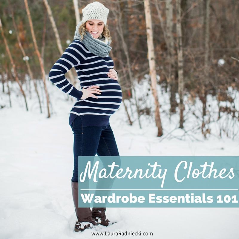 Maternity Wardrobe Essentials 101 - Pregnancy Clothing Simplified