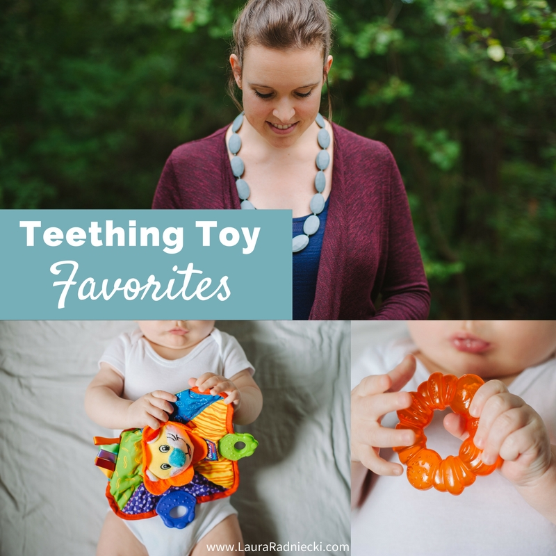 Our Current Teething Toy Favorites