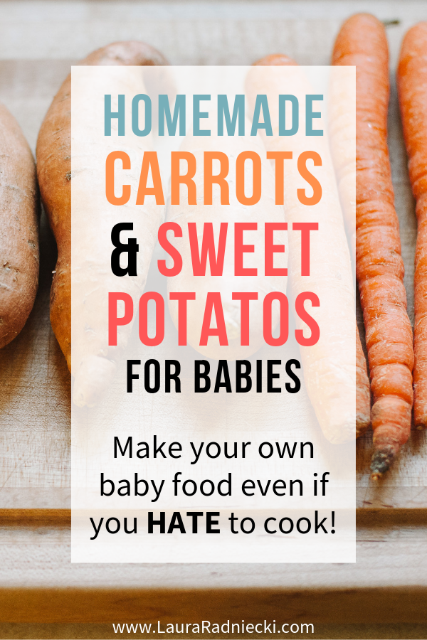 How to Make Carrots and Sweet Potato Puree for Babies _ Homemade Baby Food Carrots and Sweet Potato Puree Recipes
