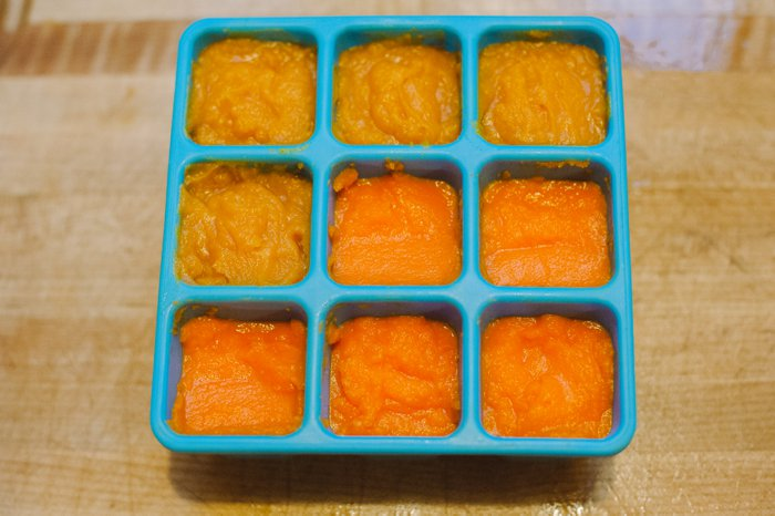 Homemade Baby Food Carrots and Sweet Potatoes | Homemade Baby Food Puree Carrots and Sweet Potatoes