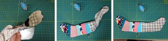 How to sew a stocking for Christmas