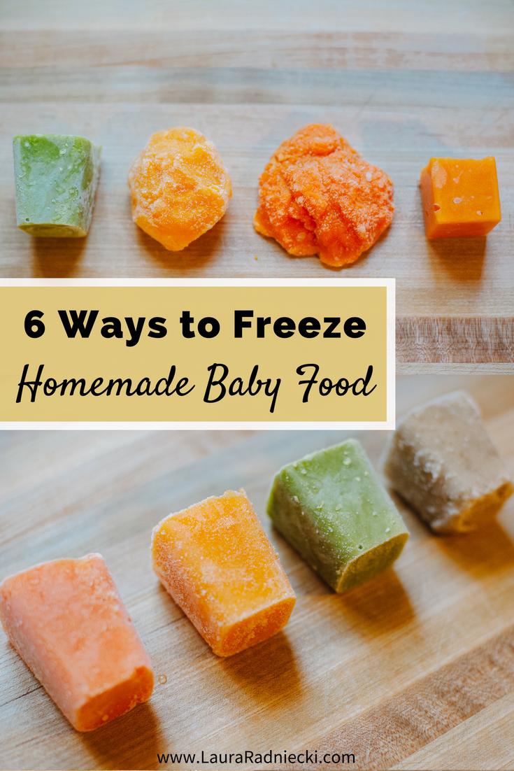 How Long Is Homemade Baby Food Good In Freezer