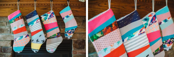 how to make patchwork christmas stockings diy a diy tutorial handmade christmas stockings