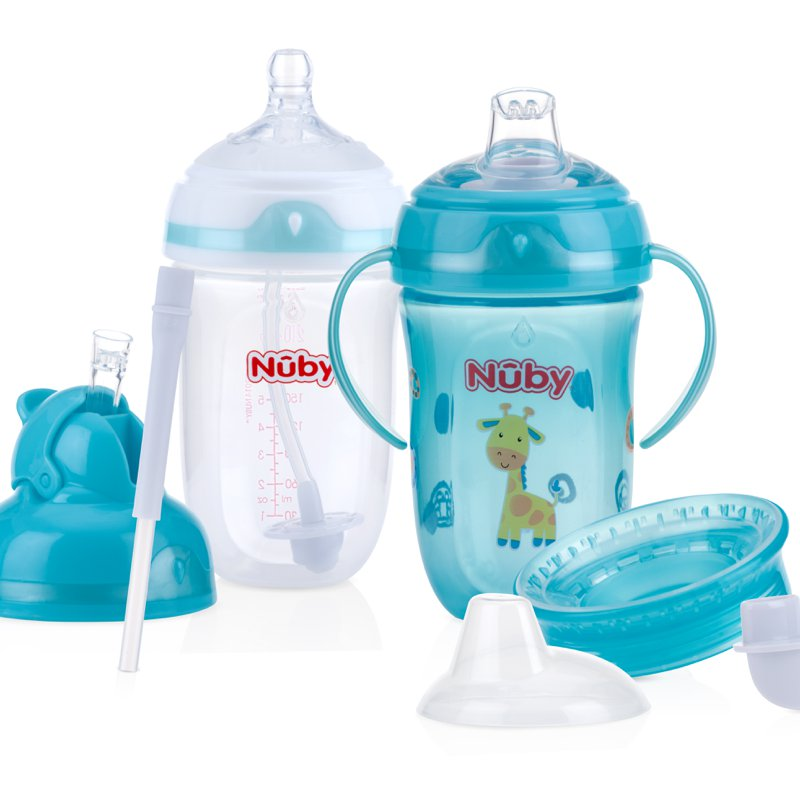 Nuby Comfort 360 Plus 6 Stage Bottle to Cup Kit | Product Review