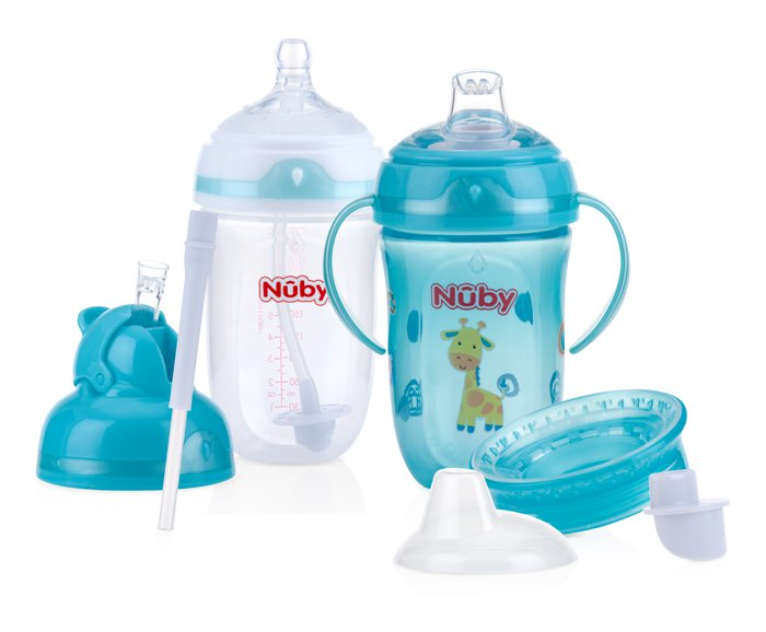 nuby straw sippy cup instructions