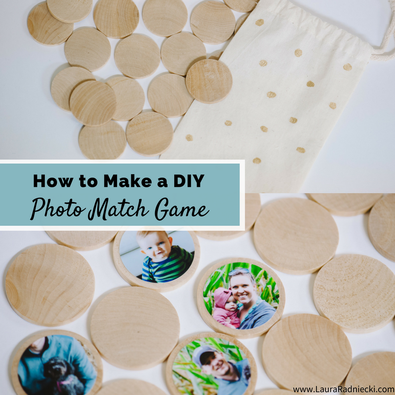 How to Make a DIY Memory Match Game | Toddler and Kids Crafts | Homeschool Daycare craft learning idea