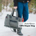 Product Review of the CiPU Tote Bag Diaper Bag - CiPU Diaper Bag Review