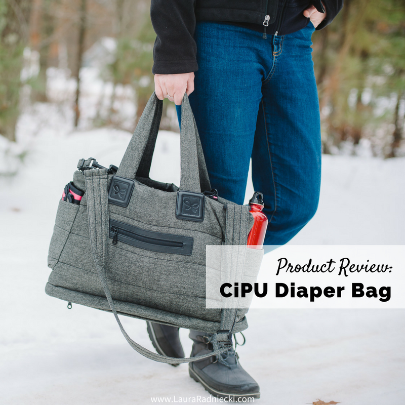The CiPU Diaper Bag | Tote Bag Product Review