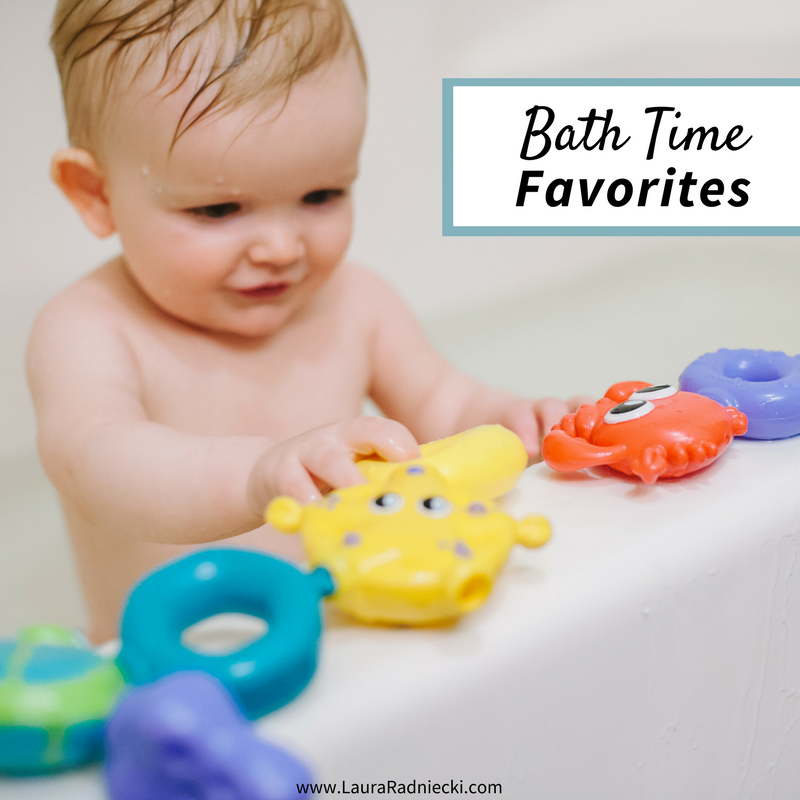 Bath Time Favorites - Must Have Products for Bath Time